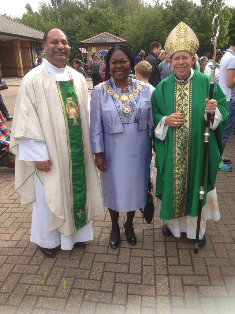 Induction Mass with the Mayor of Southwark and the Bishop